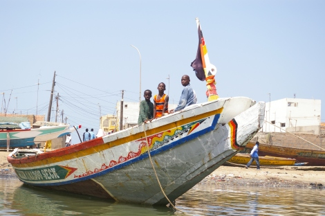 Fishing Boat in Senegal