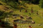 Nell'Orto sono presenti una fonte antica e un pozzo artesiano che riescono a soddisfare la maggior parte delle necessità idriche.